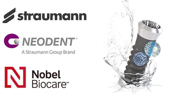 ストローマン社製とノーベルバイオケア社製の インプラントを使用しています。